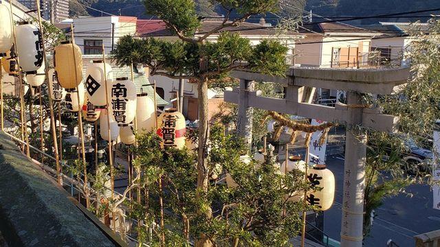 西叶神社の鳥居