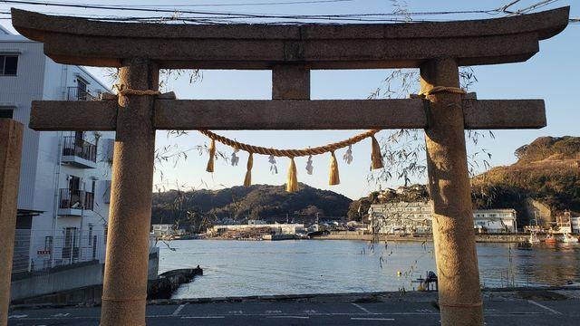 東叶神社の鳥居