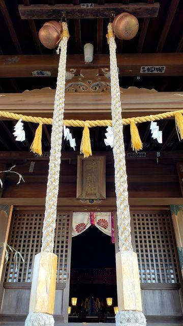 東叶神社の拝殿