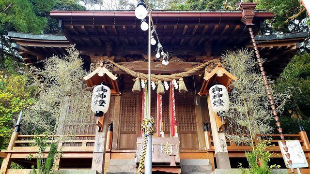 走水神社の拝殿