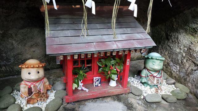 走水神社の境内社/水神社