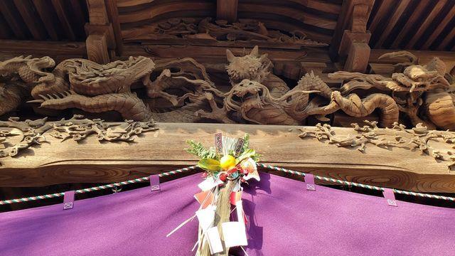 西叶神社の社殿