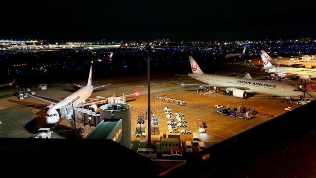 羽田空港第一旅客ターミナル展望デッキ