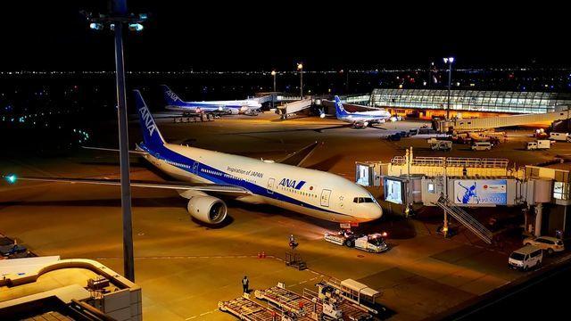羽田空港第二旅客ターミナル展望デッキ