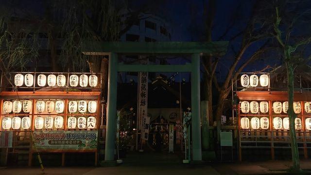 築地波除神社の鳥居