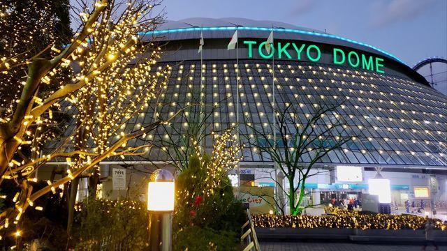 東京ドームシティのウインターイルミネーション