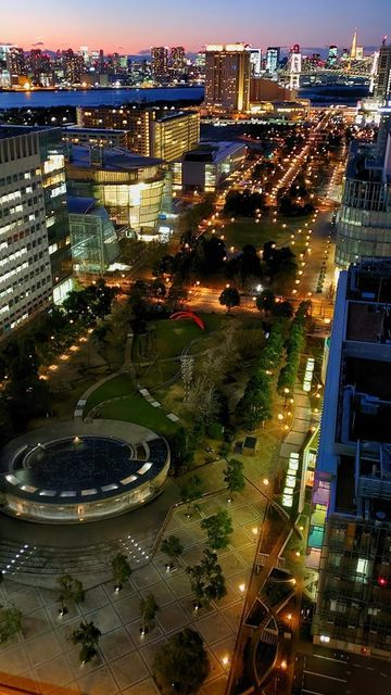 テレコムセンターからの夜景