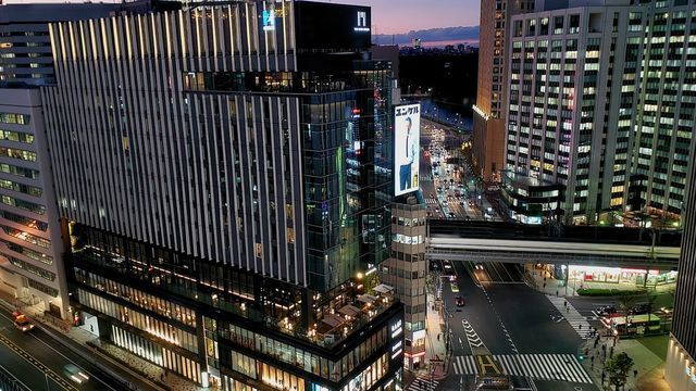東急プラザ銀座/キリコテラスからの夜景