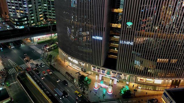 東急プラザ銀座キリコテラスからの夜景