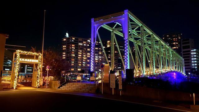 天王洲アイルふれあい橋とT.Y.HARBOR