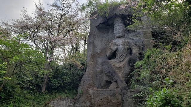 鷹取山公園の磨崖仏