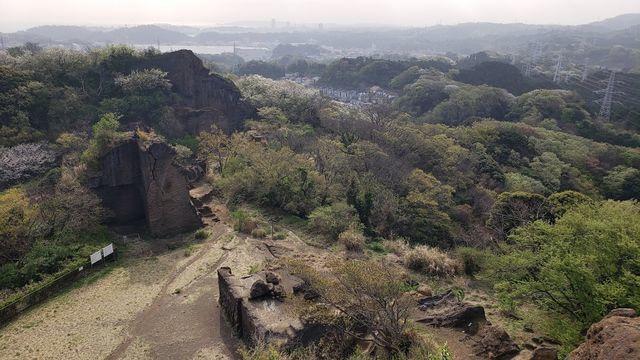 鷹取山公園展望台からの眺望