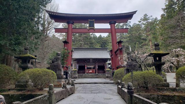 北口本宮浅間神社の鳥居