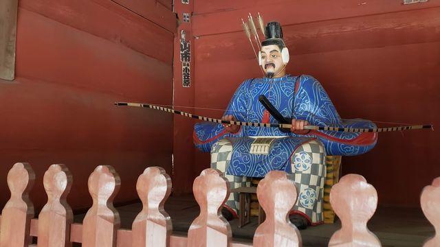北口本宮浅間神社のご神門