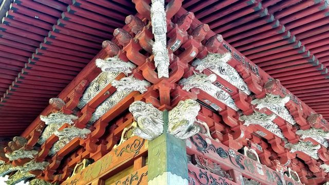 北口本宮浅間神社の境内