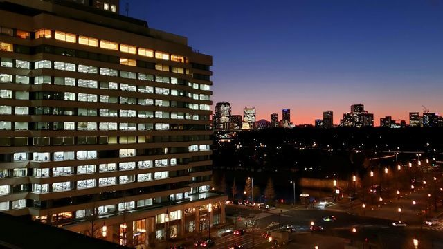 新丸ビルからの夜景