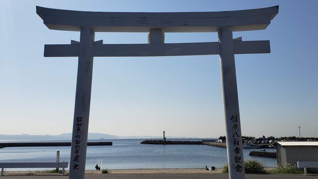 鴨居八幡神社の鳥居