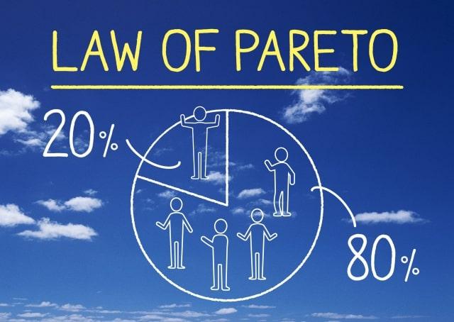 パレートの法則とロングテール