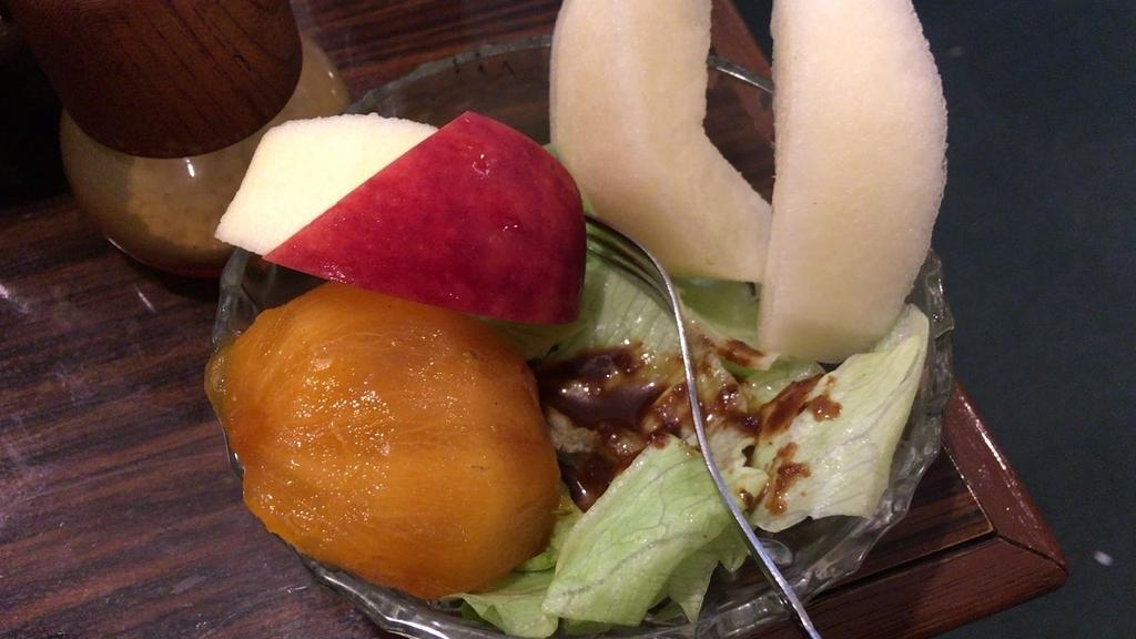 軽食喫茶ハマのデザート
