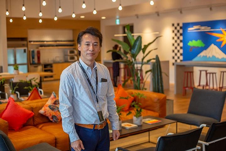 広原巌 ソフトバンク株式会社-WeWorkの環境は業務効率の向上に効果が大きい