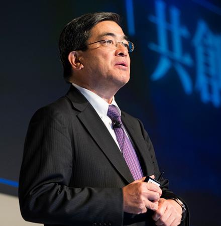 今井康之 ソフトバンク株式会社 代表取締役 副社長執行役員 兼 COO