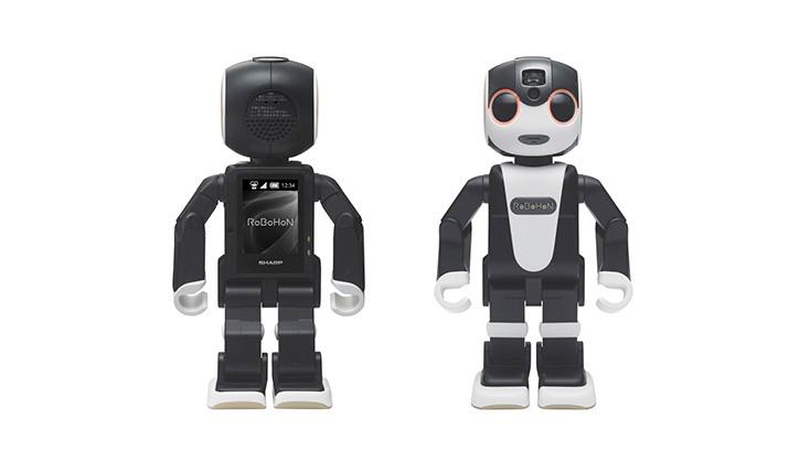 モバイル型ロボット電話「ロボホン」(写真提供:ロボ・ガレージ)