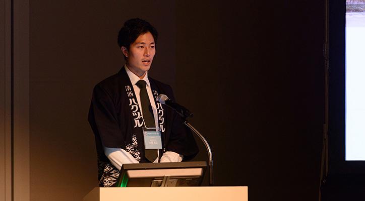 大岡 和広 氏 白鶴酒造株式会社 広報室 副主任