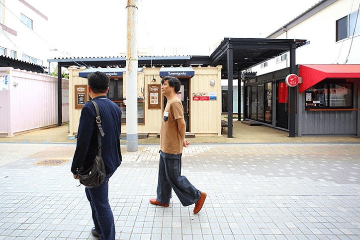コンテナを改造した店舗、ABURATSU GARDEN