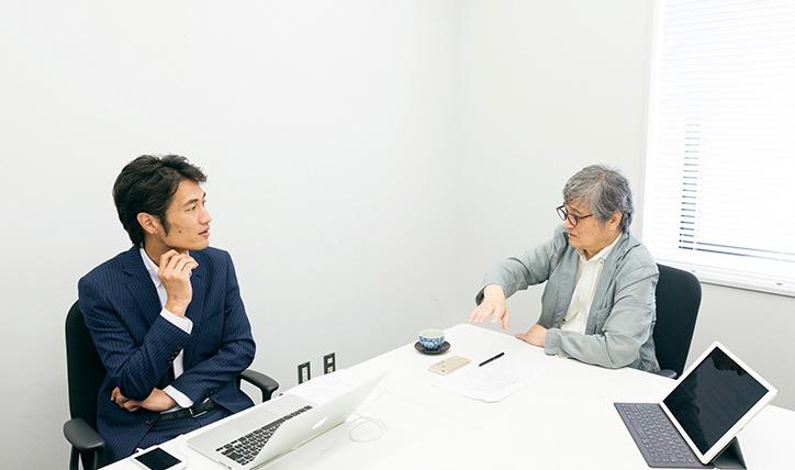シェアサイクルについて語る根来氏と横井氏