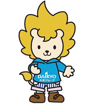 大京グループのキャラクター「ダイちゃん」