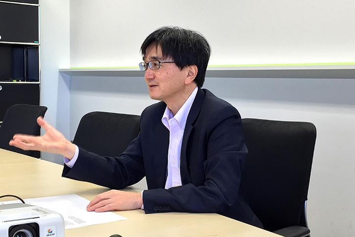 IoTとM2Mの違いについて語る森川氏