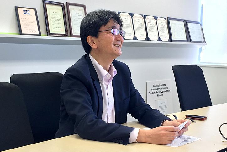 IoTが社会やビジネスに与える影響について語る森川氏