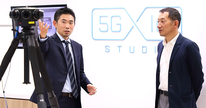 TechShop Tokyoについて語り合う湧川氏と有坂氏