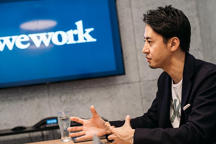 WeWorkが提供するのはリアル版SNS