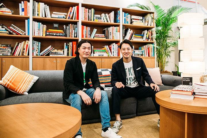 WeWorkについて対談した高橋氏と吉村氏