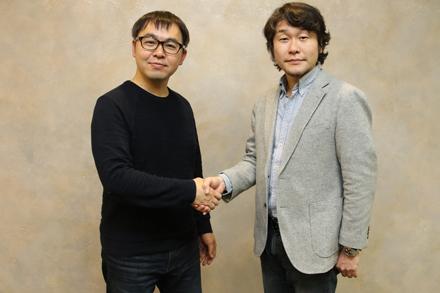 芳川裕誠 氏(左) 藤平大輔 氏(右)