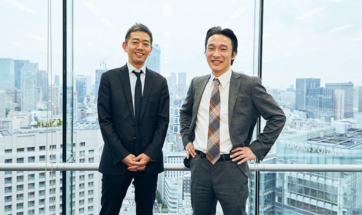 ソフトバンク 木下 貴士氏(写真左)とSBクラウド 代表取締役 兼 CEO 内山 敏氏(写真右)