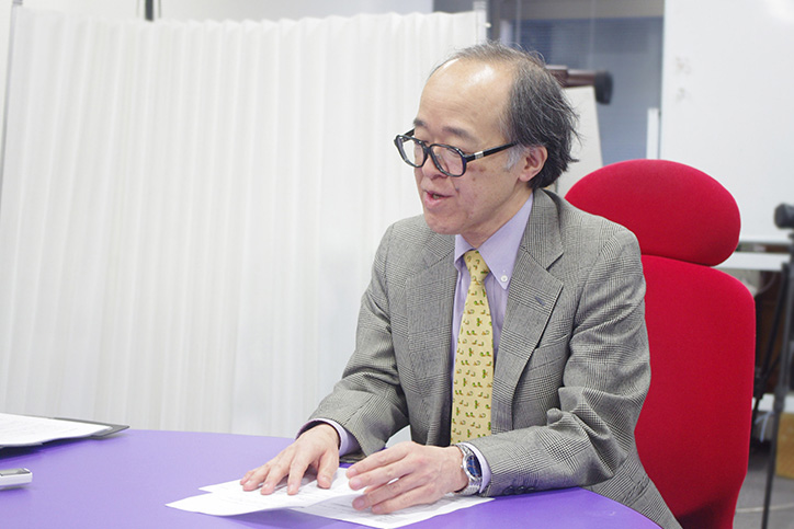 VRの「今」について語る廣瀬氏