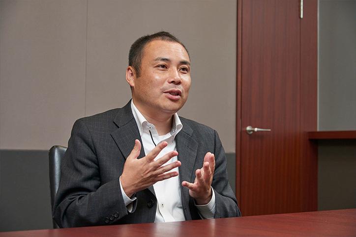 アダプティブラーニング導入経緯について語る平井氏