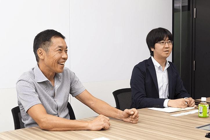「ぺっぷれ」成功の秘訣を語る滝本氏と鵜口氏