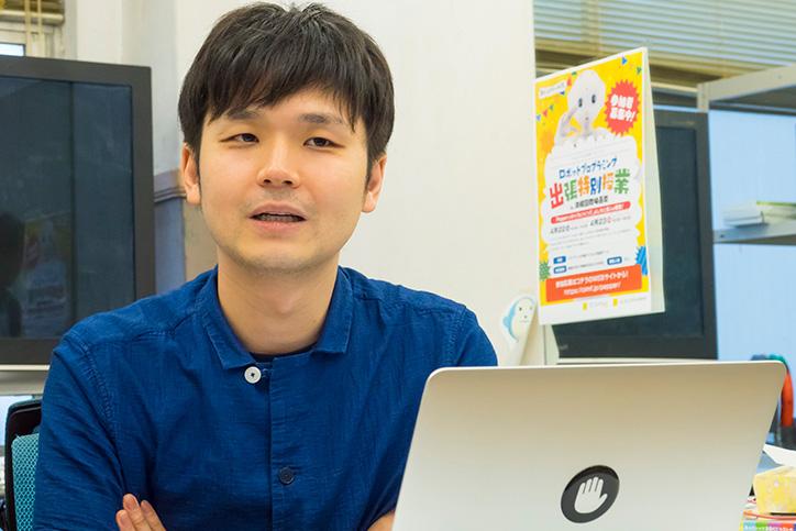 Pepperアプリの開発で苦労した点を語る高橋氏
