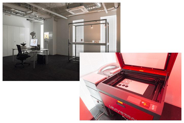 プロのものづくりを体感できる「INIAD Makers' Hub」