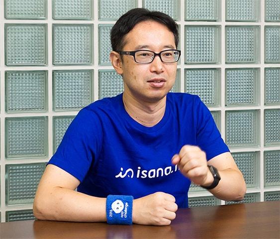 アプリ開発の次のテーマを語る谷野氏