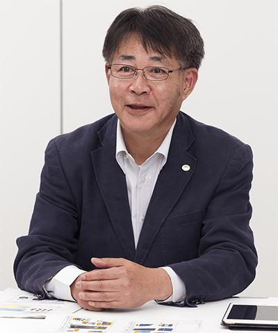 ロボット市場について語る内村氏
