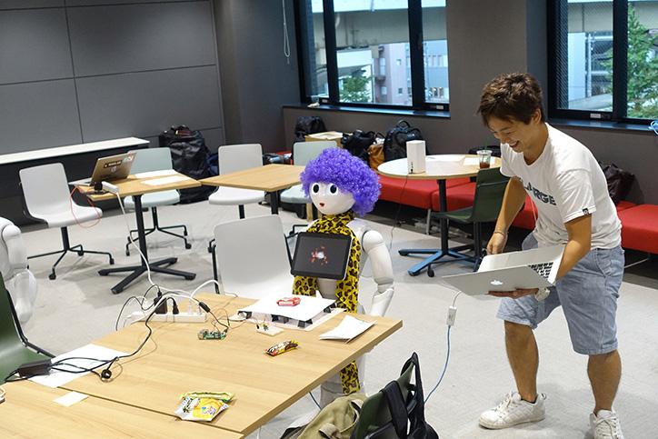 ペッパソン2017西の陣 Mashup Awards特別賞、グローリー賞 作品名:駄菓子屋ぺっちゃん/チーム名:TEAM P works with Shinta