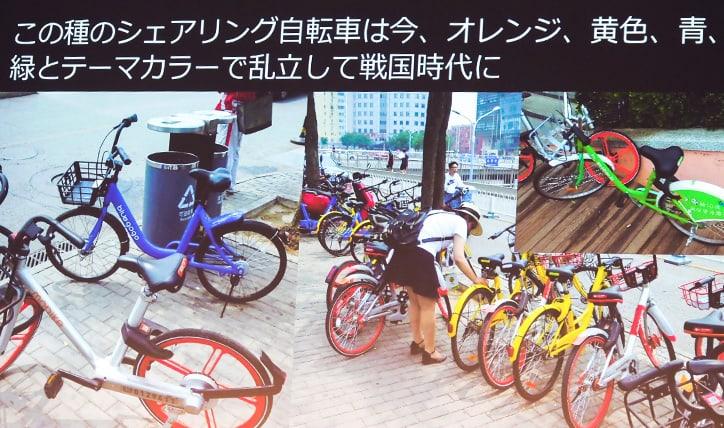 シェアサイクリング戦国時代