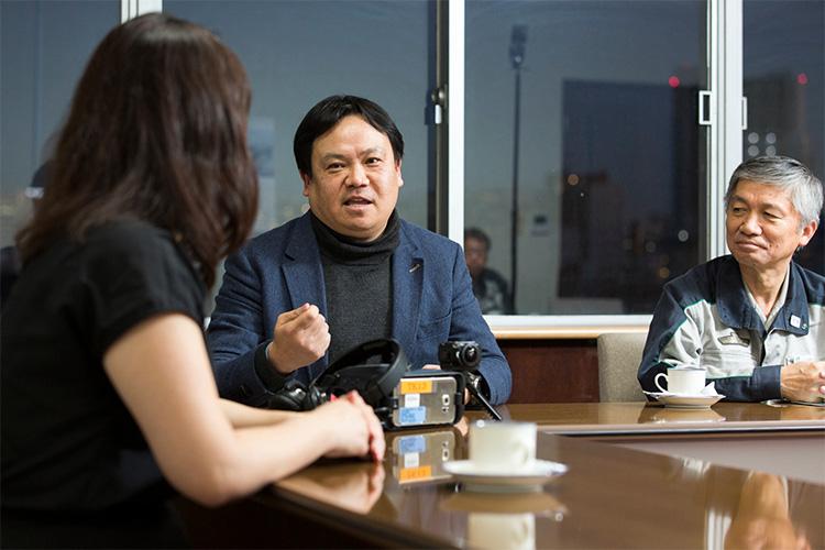 5Gを活用した次世代のVRについて語る小沢氏