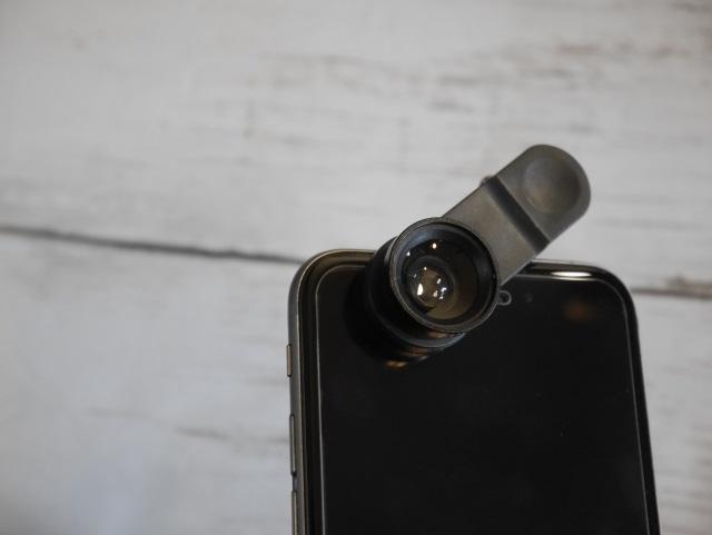 スマホレンズ取付 インカメラ