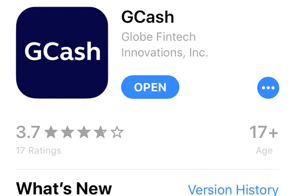 GCashアプリダウンロード画面