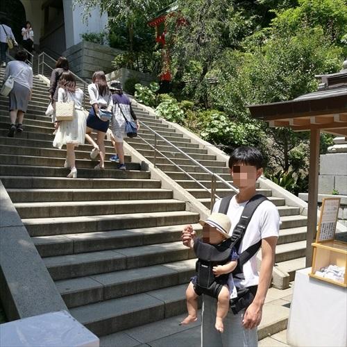 江島神社は階段で登ろう